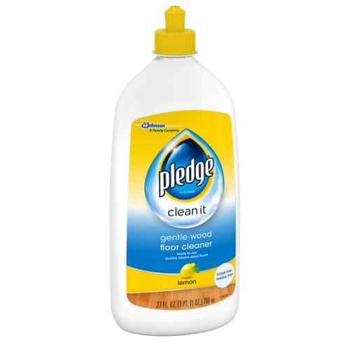 Best Hardwood Floor Cleaners - Pledge Cleaner Review