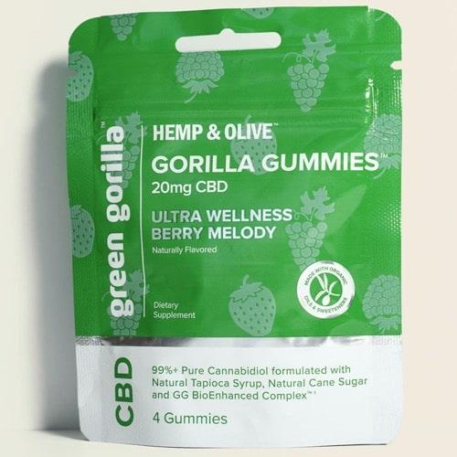 Best CBD Gummies - Green Gorilla CBD Gummies Review