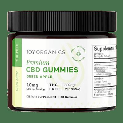 Best CBD Gummies - Joy Organics Broad Spectrum CBD Gummies Review