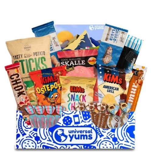 Best Snack Subscription Boxes - Universal Yums Review