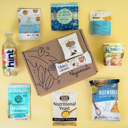 Best Snack Subscription Boxes - Vegancuts Review