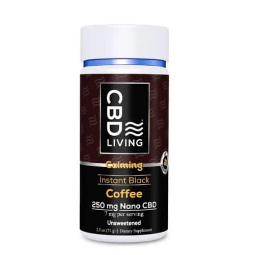 Best CBD Coffee - CBD Living CBD Instant Coffee Review