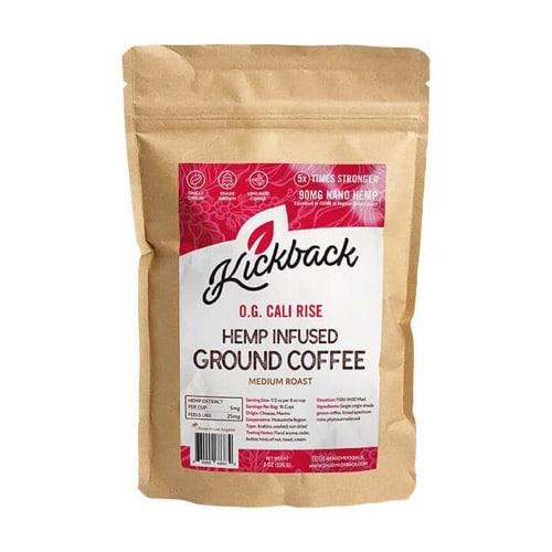 Best CBD Coffee - Kickback CBD Coffee Review