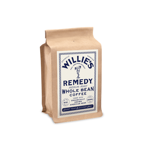 Best CBD Coffee - Willie's Remedy CBD Coffee Review