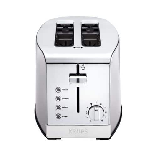 Best Toasters - KRUPS 2 Slice Stainless Steel Toaster Review