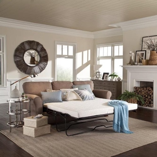 PlushBeds Reviews - Gel Memory Foam Sofa Bed Mattress Review