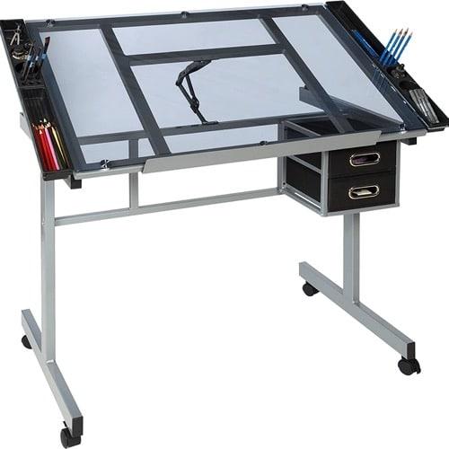 Best Home Office Desk - OneSpace Modern/Contemporary Craft Desk Review