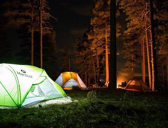 Sleep Junkie Pays Family Camping Trip