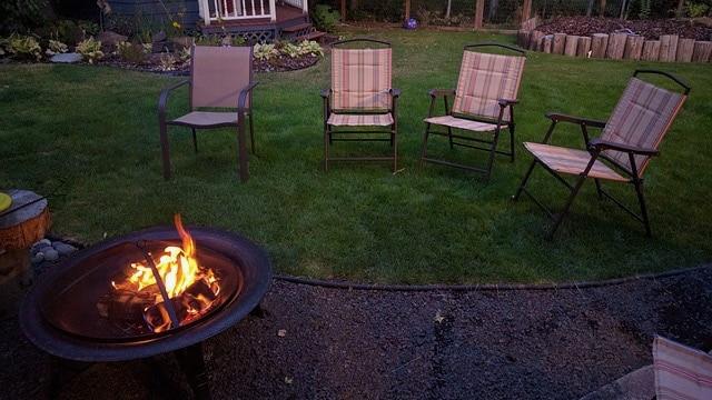 Backyard Ideas - Fire Pit