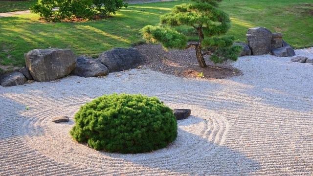 Backyard Ideas - Zen Garden