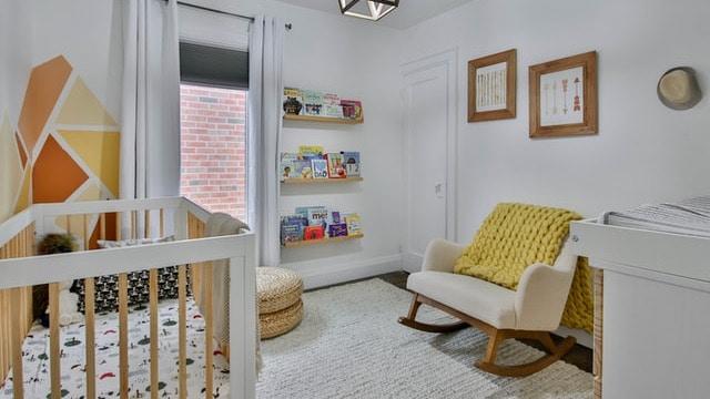 Baby Boy Nursery Ideas - Parent Seat