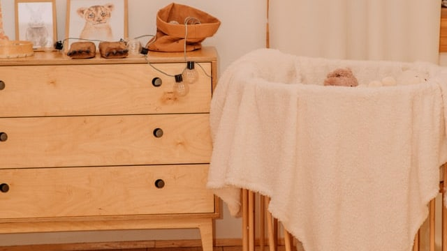 Baby Boy Nursery Ideas - Wooden Details
