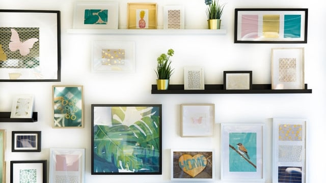 Eclectic Style - Wall Gallery