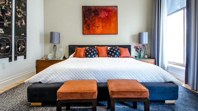 Eclectic Style - Multi-Colored Pillows