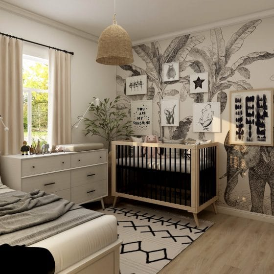 Baby Boy Nursery Ideas - Featured