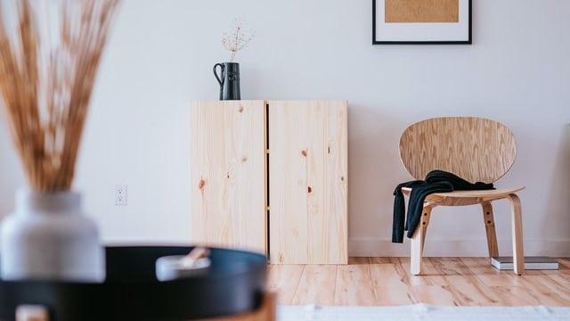 Japandi Style - Hardwood Floor