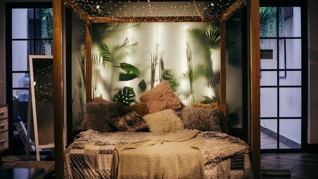 Boho Bedroom Ideas - Boho Lights