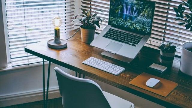 Small Home Office Ideas - Leggy Desk