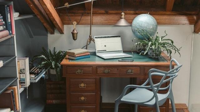 Small Home Office Ideas - Attic