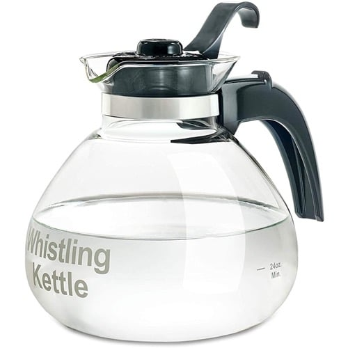 Best Tea Kettle - Best Tea Kettle - Medelco Glass Stove Top Whistling Kettle Review