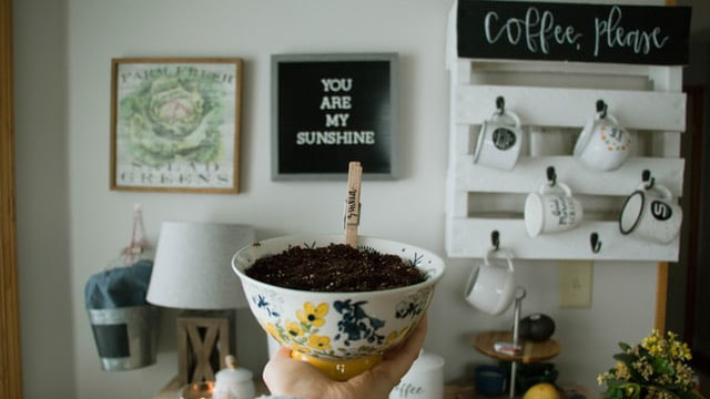 Coffee Bar Ideas - Interesting Decor