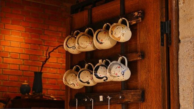 Coffee Bar Ideas - Rack It Up