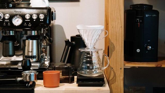 Coffee Bar Ideas - Black Details
