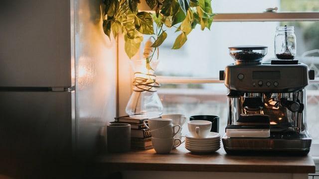 Coffee Bar Ideas - Add Plants