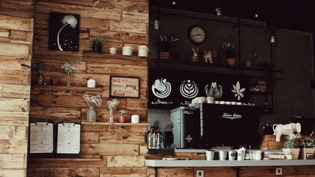 Coffee Bar Ideas - Visual Interest