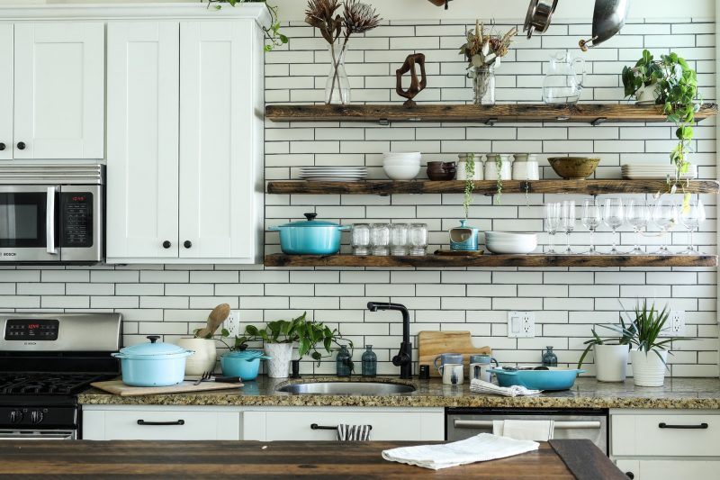 Kitchen Shelving Ideas - Featured