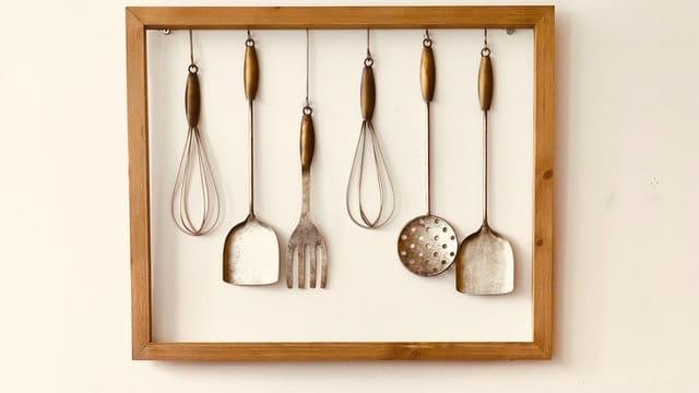Kitchen Wall Decor Ideas - Frame the Kitchenware