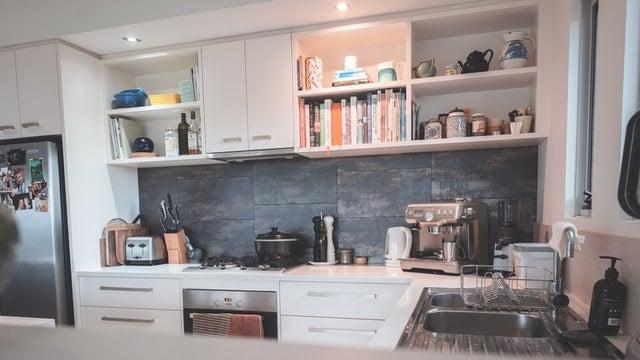 Kitchen Shelving Ideas - Cookbooks