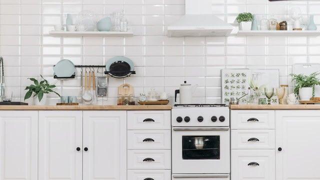 Kitchen Shelving Ideas - White on White