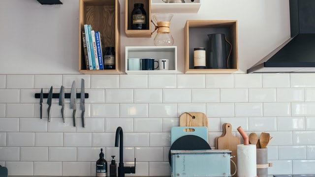 Kitchen Shelving Ideas - Open Shelves