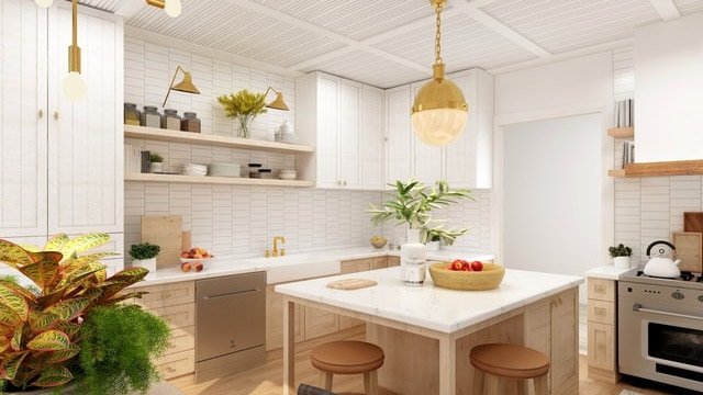 Kitchen Shelving Ideas - Simple Design