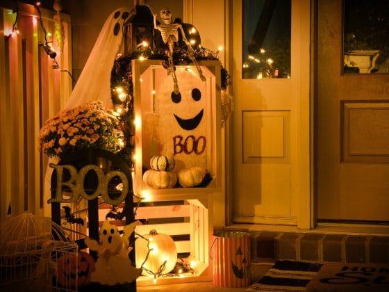 Halloween Door Decs