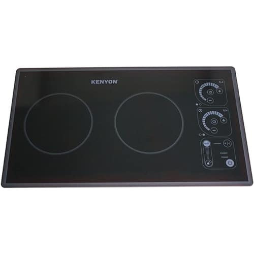 Best Induction Cooktop - Kenyon SilKEN 21-Inch 240 V Induction Cooktop with Two Burners Review